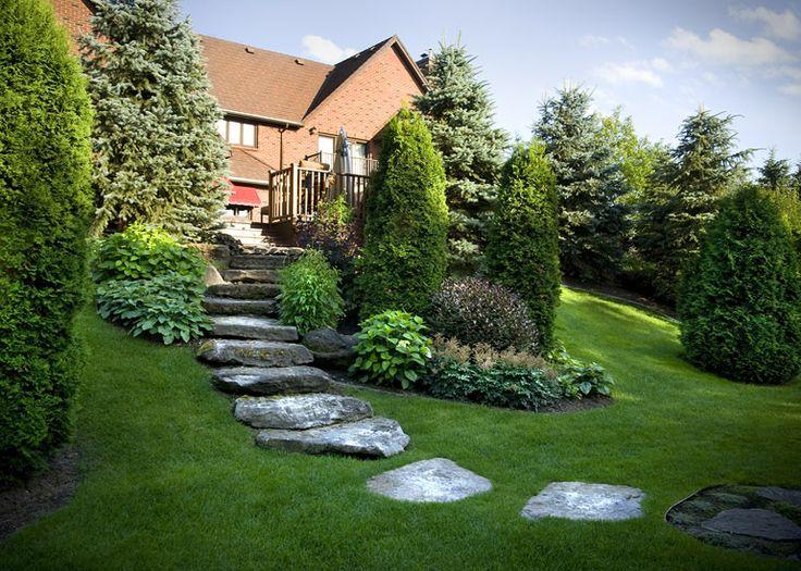 les 104 meilleures images propos de jardin talus pentu. Black Bedroom Furniture Sets. Home Design Ideas