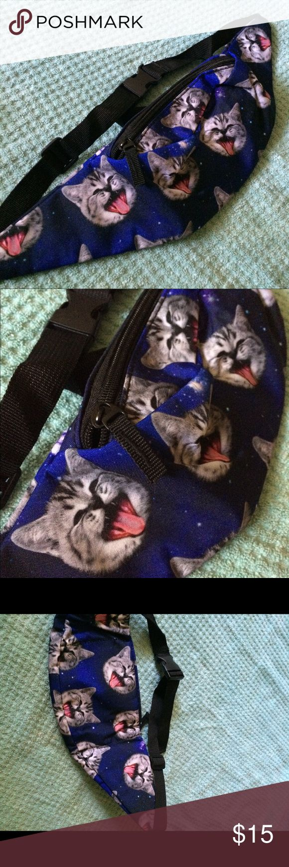 Space Kitty festival fanny pack! 🆕💕😻💫 Super cute and brand new! Perfect for festival season ;-) Urban Outfitters Bags Mini Bags