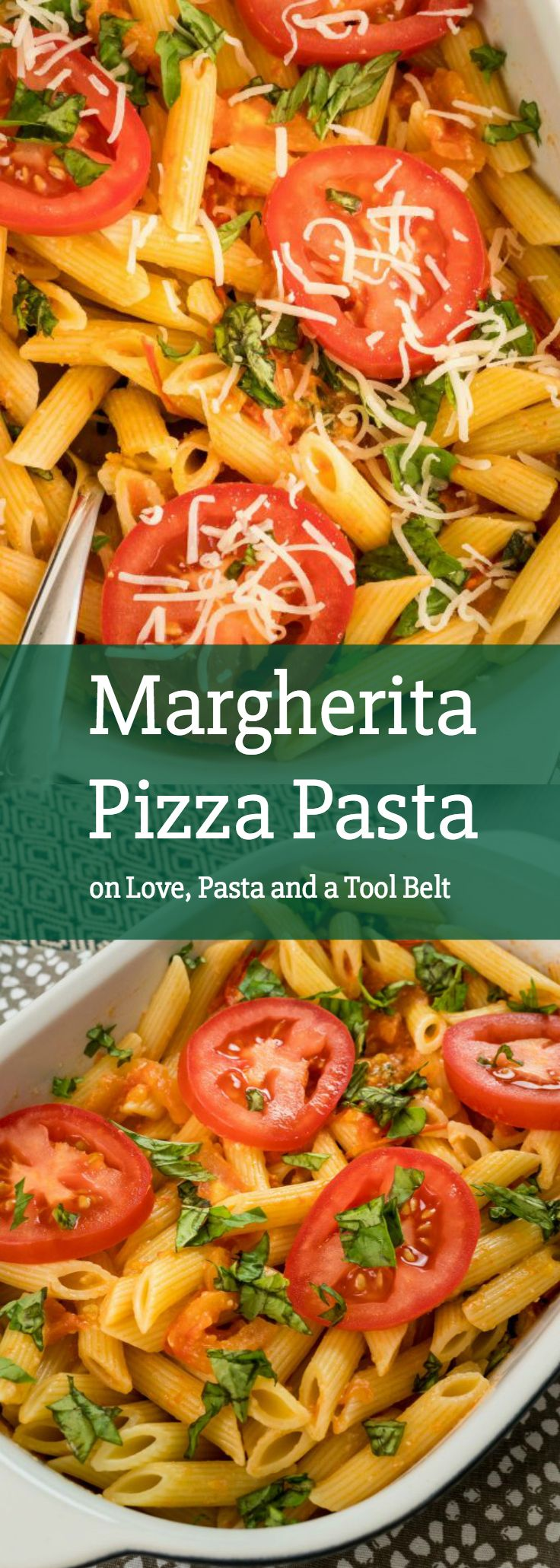 Have dinner ready in 30 minutes with this recipe for Margherita Pizza Pasta #ad