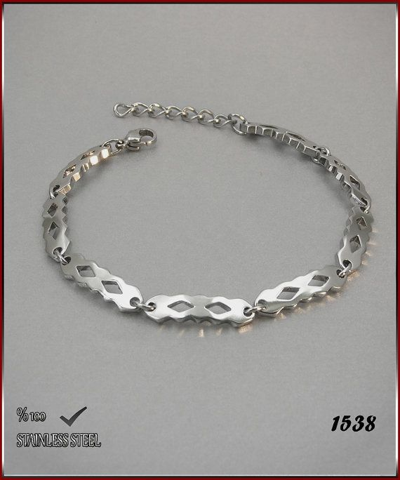 Axcesi 1538  Stainless steel chain bracelet thickness 6 by Axcesi