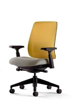 Haworth Lively Task Chair |  Lively brings advanced features and a light-scale aesthetic to the people responsible for getting work done at the office or home workspace.