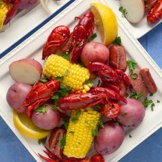 This easy crawfish boil recipe uses fully cooked frozen crawfish available at many grocery stores. It's quick and delicious. Bring Louisiana home any night!