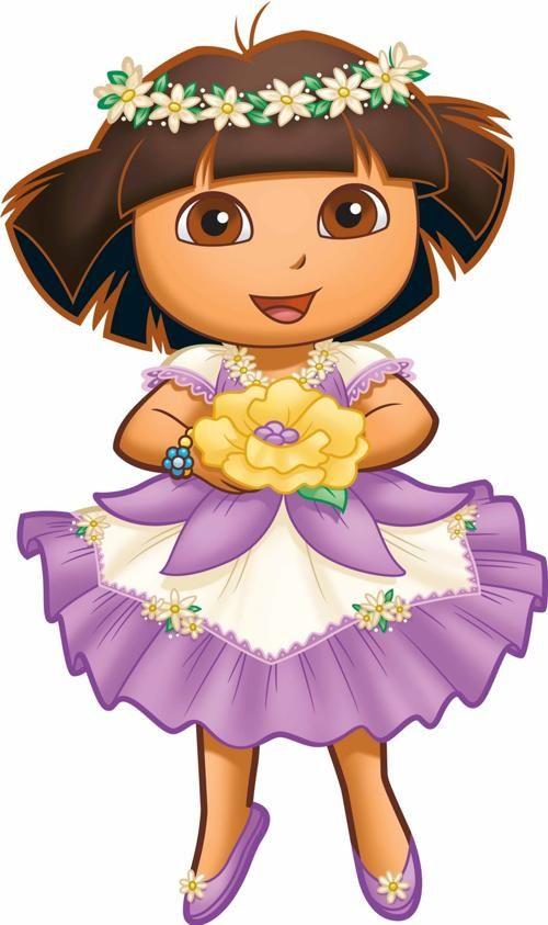 """Cuando era niña, mi programa favorito de television para ver fue """"Dora the Explorer"""". Yo tenía una mochila como la mochila de Dora, y cantaba la canción de la mochila en Dora."""