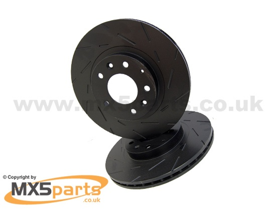 Front Brake Discs, EBC Ultra Quiet Sports, MX5 Mk3 3.5