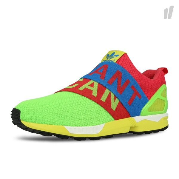 If You Want, You Can Grab the ZX Flux Slip-On Now. Rainbow ShoesAdidas ...