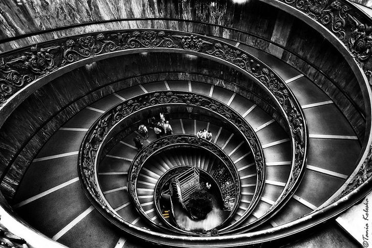 Vatican stairs...
