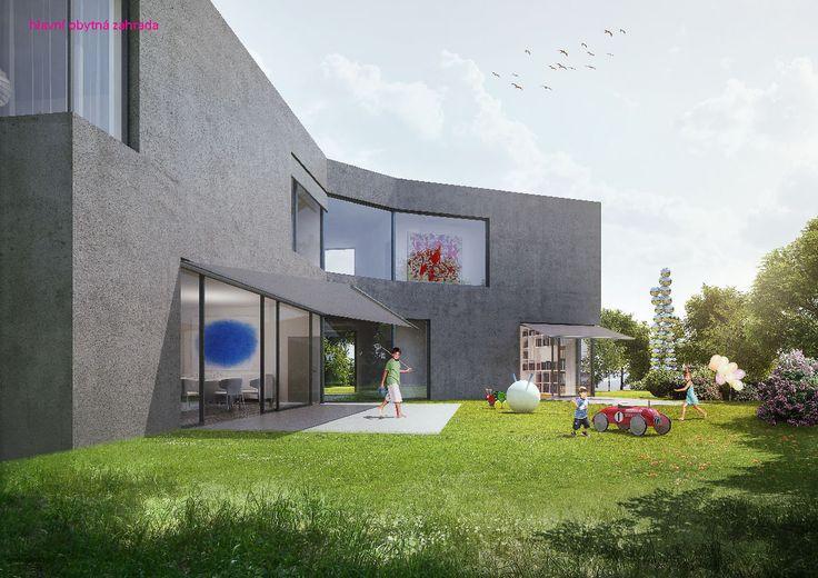 Chalupa architekti - vila na Hanspaulce