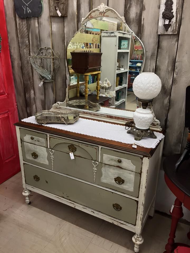Amazing Audry Martin From Southern Uniques And Antiques Used Dried Sage And Drop  Cloth From Dixie Belle