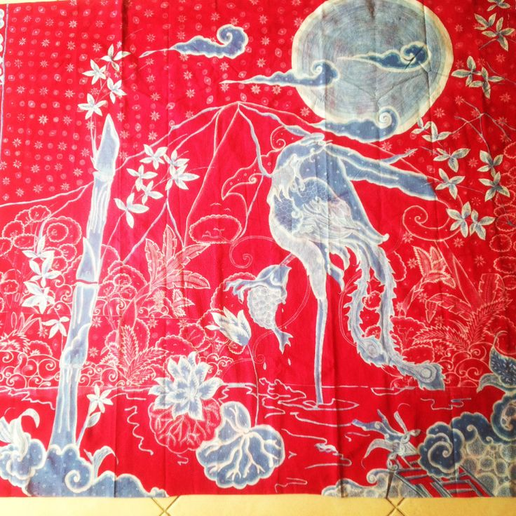 chinese influence in coastal indonesia batik in Pekalongan, alvienalfan batik facebook