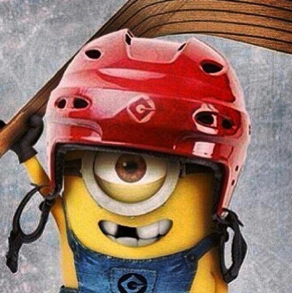 Minion hockey!