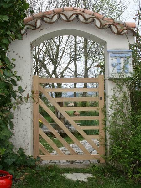 45 best portail et portillon images on Pinterest Portal, Garden - portail de maison en fer