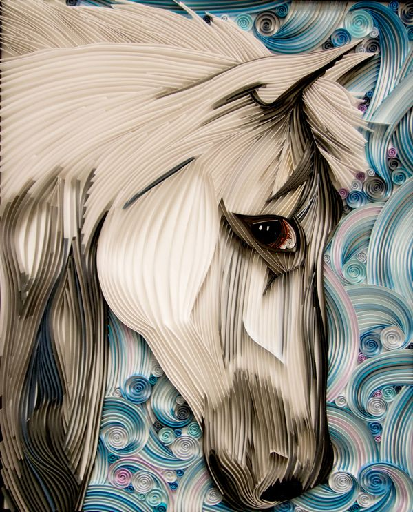 Horse - Paper Quilling on Behance