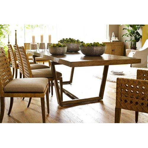Leeward Coastal Gemelina Wood Rectangular Dining Table With Two Leaves By  Curate   Baeru0027s Furniture