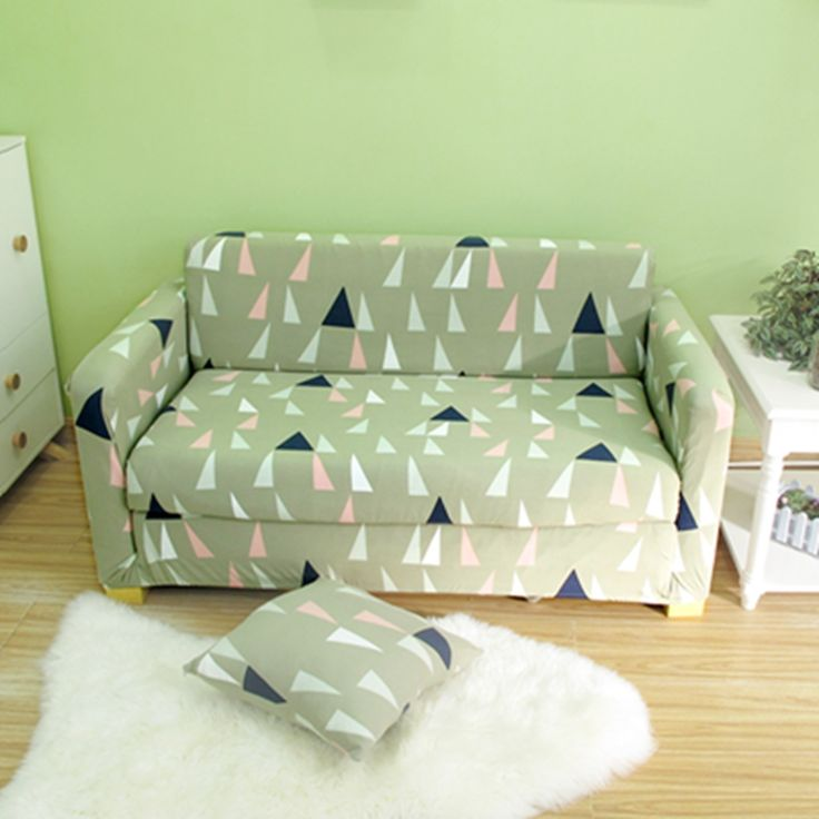 Cheap Sofa Cover Spandex, Buy Quality L Sofa Cover Directly From China  Fabric Sofa Cover Suppliers: Geometric Pattern Design Triangle Stretch  Elastic Fabric ...