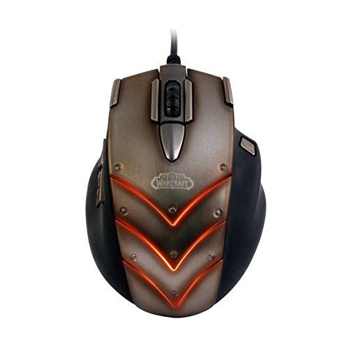 SteelSeries World of Warcraft Cataclysm MMO Gaming Mouse @ niftywarehouse.com #NiftyWarehouse #WoW #WorldOfWarcraft #Warcraft #Gaming