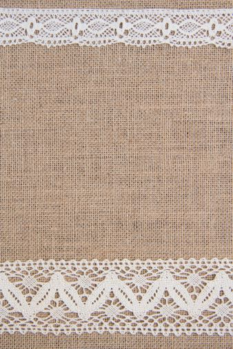 Burlap and Lace Clip Art | Burlap background with lace