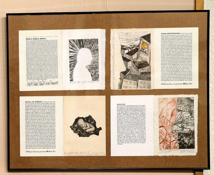 pagini de carte M.T. expuse la ICR