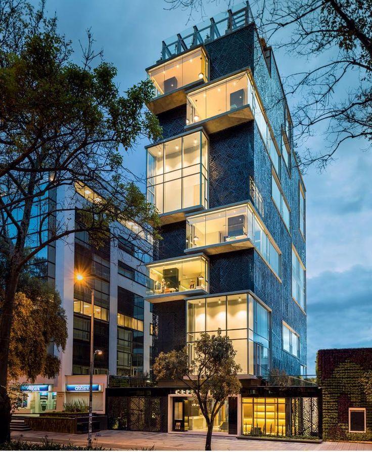 Click Clack Hotel designed by Felipe Mesa of Plan B Arquitectura