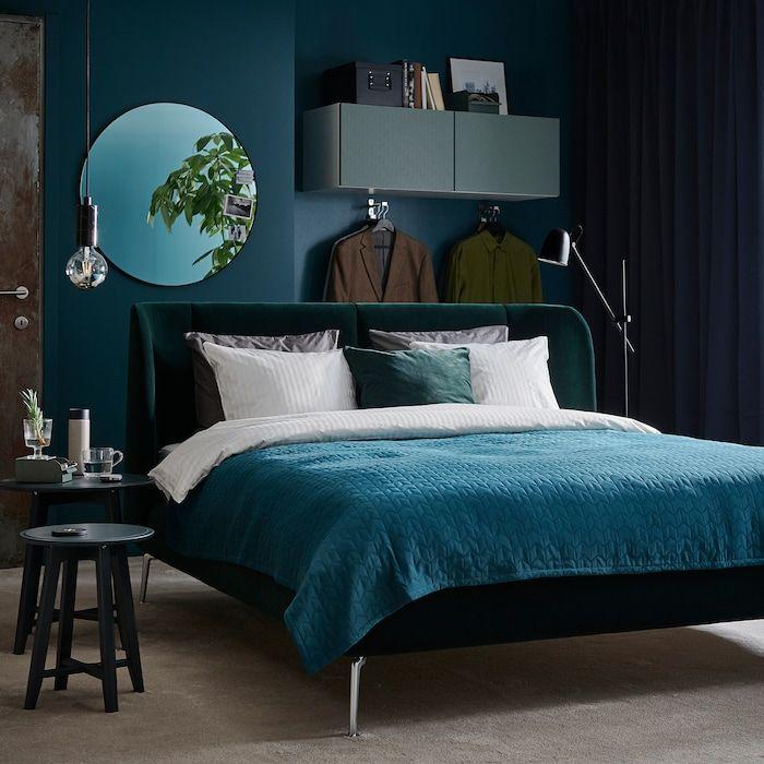 tufjord upholstered bed frame djuparp