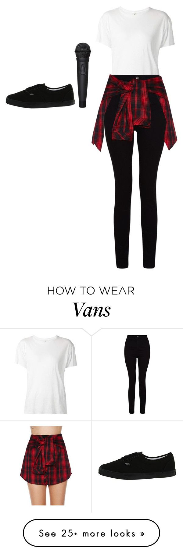 """Untitled #5430"" by adi-pollak on Polyvore featuring R13, Mustard Seed and Vans"