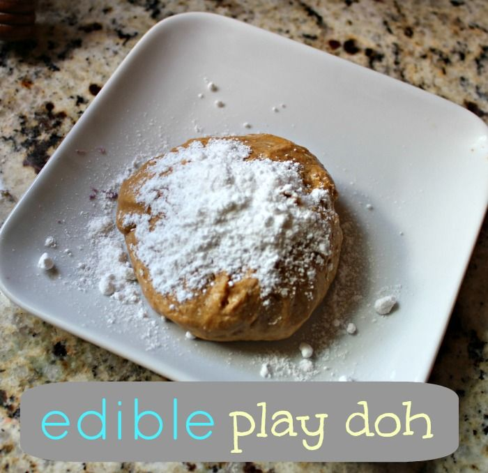 Make Edible Play Doh with 3 Ingredients  |  View From The Fridge