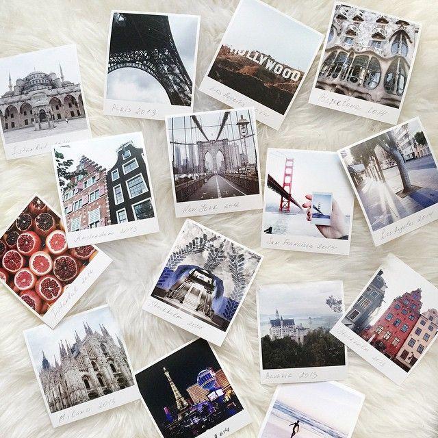 ⭐️Nastasia Nikonova ⭐️ @pullya Нью-Йорк, Париж, Стамбулю..Обожаю печатать фото из путешествий и держать их в руках, а потом вклеивать в тревел буки;) Для меня сейчас самый удобный сервис по печати фото - приложение ФотоПочта @FotoPostApp Загружаешь снимки и оформляешь доставку сразу из приложения - это очень удобно! Цена/качество тоже отличные Ну и самое крутое, что фото не просто квадратные, а в формате полароида, потому что на этих белых полях очень удобно писать, я это дело обожаю