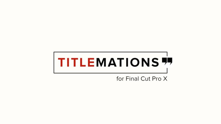 https://fxfactory.com/info/rippletitlemations/ Titlemations is a set of professionally designed, animated title templates for Final Cut Pro X that can be use...