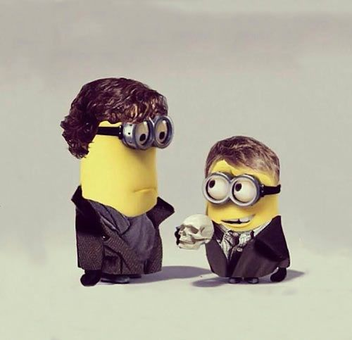 Despicable Sherlock…
