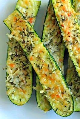 Crusty Parmesan Herb Zucchini Bites