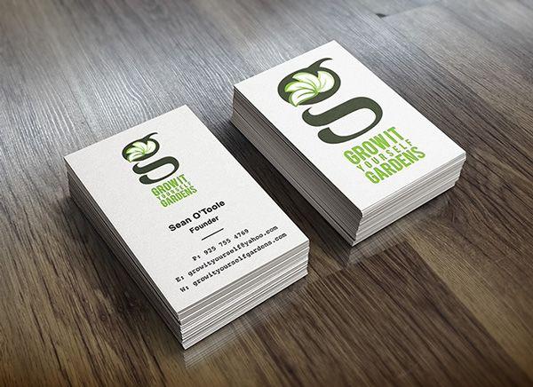 garden design business cards - Garden Design Business Cards