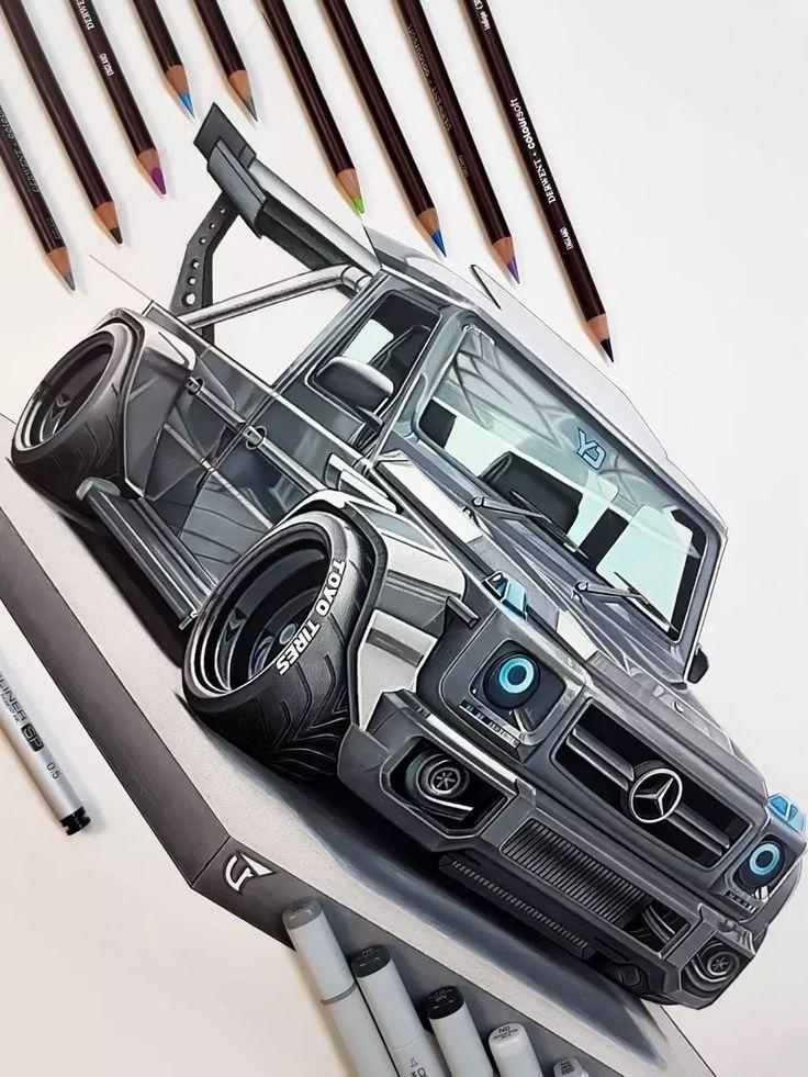 Mercedes gwagon F1 - @mr.falconi - Draw to Drive in 2020 ...