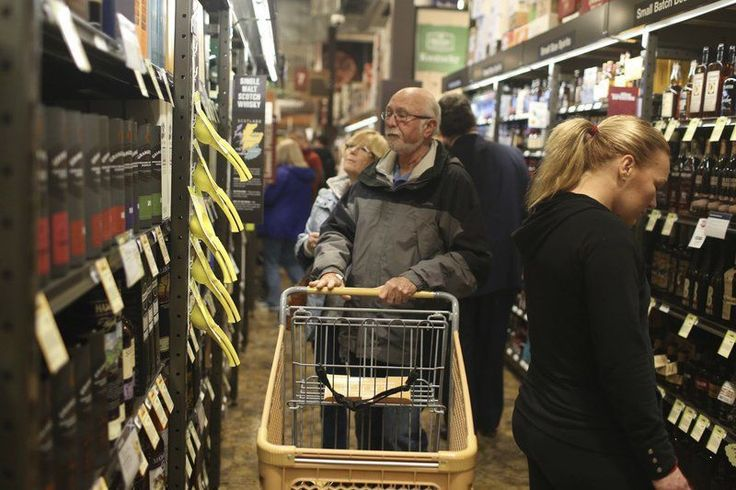 DANVERS — The much ballyhooed ribbon-cutting of Total Wine and More at the Liberty Tree Mall took place last Wednesday night before dozens of residents, local and state officials, store