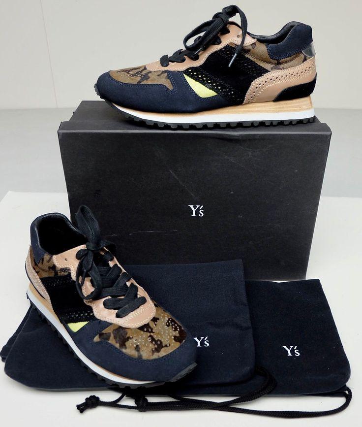 Kayo Nakamura by Y's YF-E30-719 Green Khaki 6 US Women's 9.5 Yohji Yamamoto Shoe