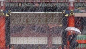 Salju Pertama di Tokyo Setelah 54 Tahun