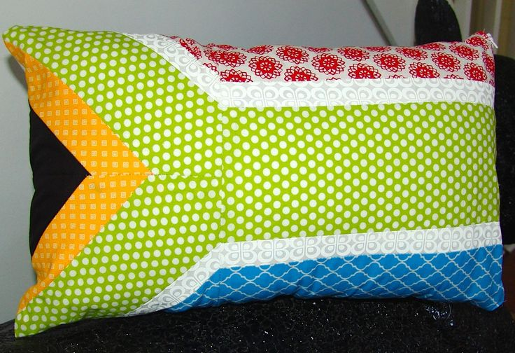 South African Flag Pillow by PurelySublime on Etsy