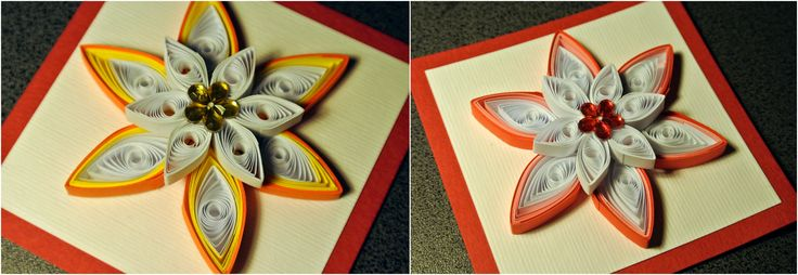 Quilling flowers (full tutorial on our website)