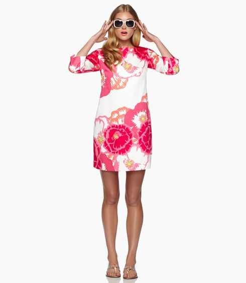 lilly pulitzer: Little Dresses, Wear Pink, Summer Dresses, 2Nd Pink, Lilly Desktop, Crafts Ideas, Lilly Pulitzer, Shift Dresses, Fabulous Fashionista