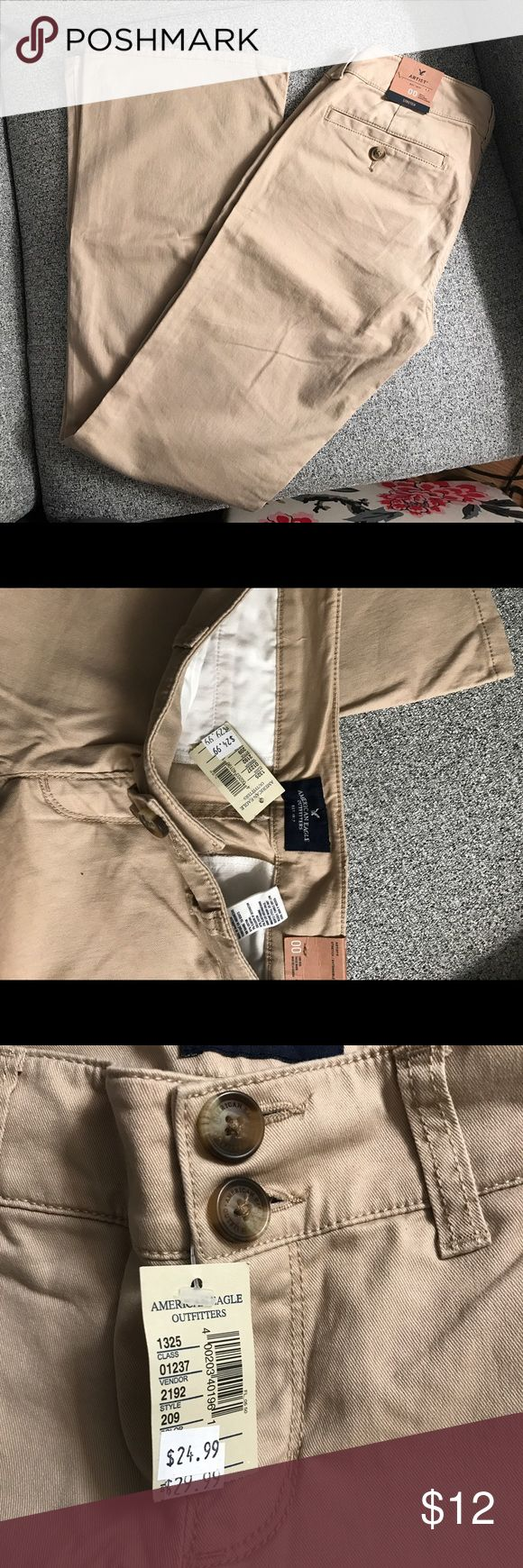 Brand new American Eagle khakis Great condition. New with tags American Eagle Outfitters Pants Trousers