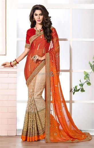 http://www.designersandyou.com/saree-blouse/designer-sarees/lace-saree-jacket-designs-with-stylish-lace-and-half-sleeves-patterns-1802