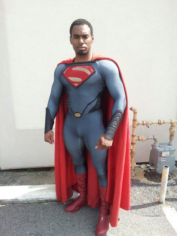 black superman cosplay | Man of Steele Cosplay (12 ...