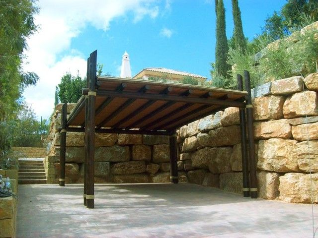 17 best ideas about maderas para pergolas on pinterest - Pergolas rusticas de madera ...