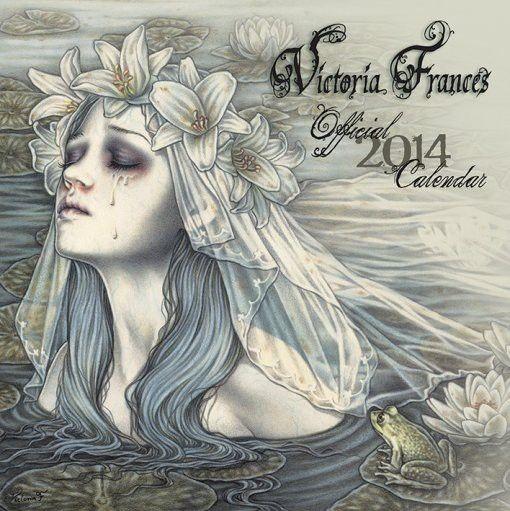 Victoria Francés - Calendrier gothique 2014