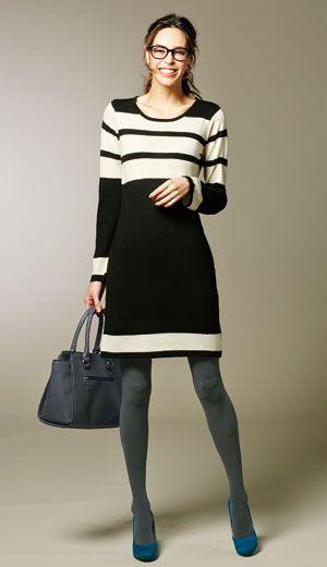 ボーダーニットワンピース ワンピース ワンピース・チュニック   女性ファッション通販サイトFABIA(ファビア)