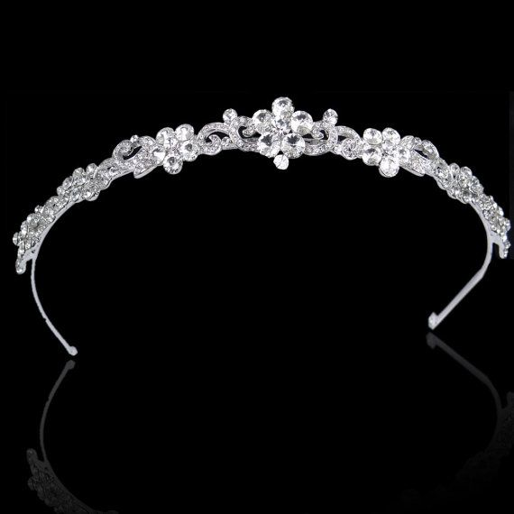 This shop has a lot of affordable hair accessories and jewelry for you Emily! Art Deco Style Flower Wedding Hair Band Wedding Hair by Annamall, $29.99