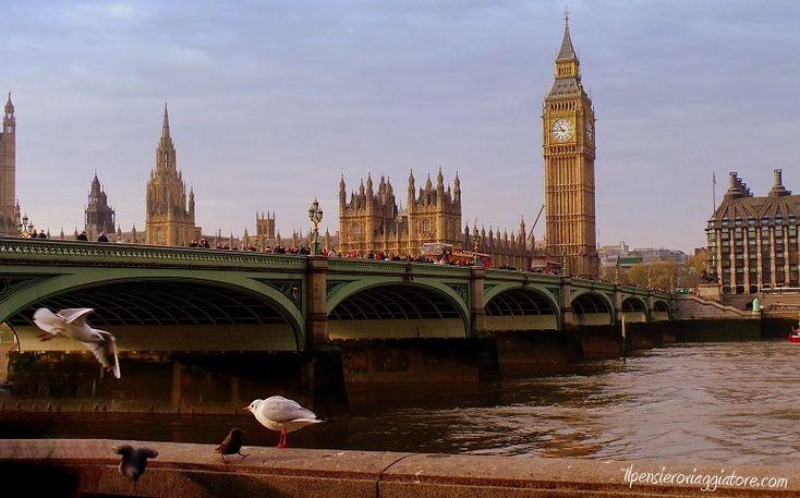 Queen's walk, itinerario a piedi a Londra