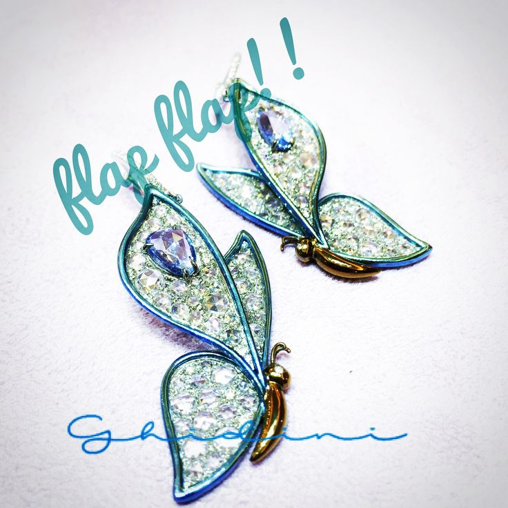 orecchini in titanio diamanti rose cut e zaffiri  #earrings #earring #earringsoftheday #jewelry #fashion #accessories #earringaddict #earringstagram #fashionista #girl #stylish #love #beautiful #brescia #piercings #pierced #cute #gorgeous #trendy #earringswag #socialenvy #ghidinigioielli #earringfashion #earringlove