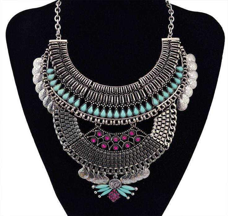 2016 New Brand Za Necklaces Fashion Jewelry Top Quality Vintage Alloy Necklace For Women
