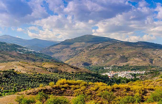 Ruta por La Alpujarra de Granada.