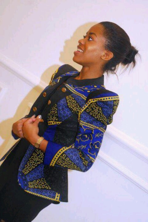 african print jacket