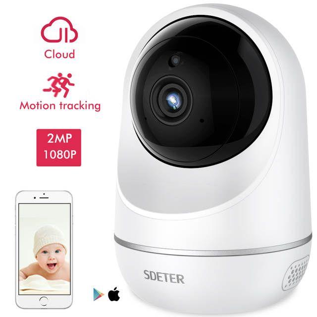 Sdeter Nounou Camera Baby Monitor Camera Wifi Bebe Securite Camera Interphone 2 Security Cameras For Home Home Security Systems Wireless Ip Camera